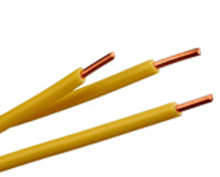 electric solid wire for model railroads