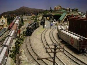 Beautiful Model Train Layout Image 6