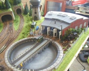 3' X 5' Outstanding N Scale Model Train Layout Image 7