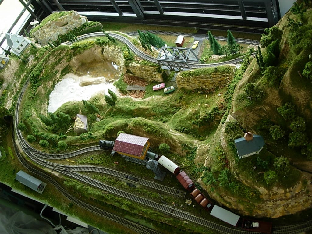 Model trains layout building guide