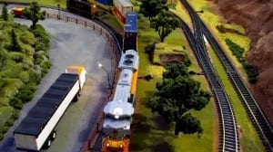 amazing model train layout photo