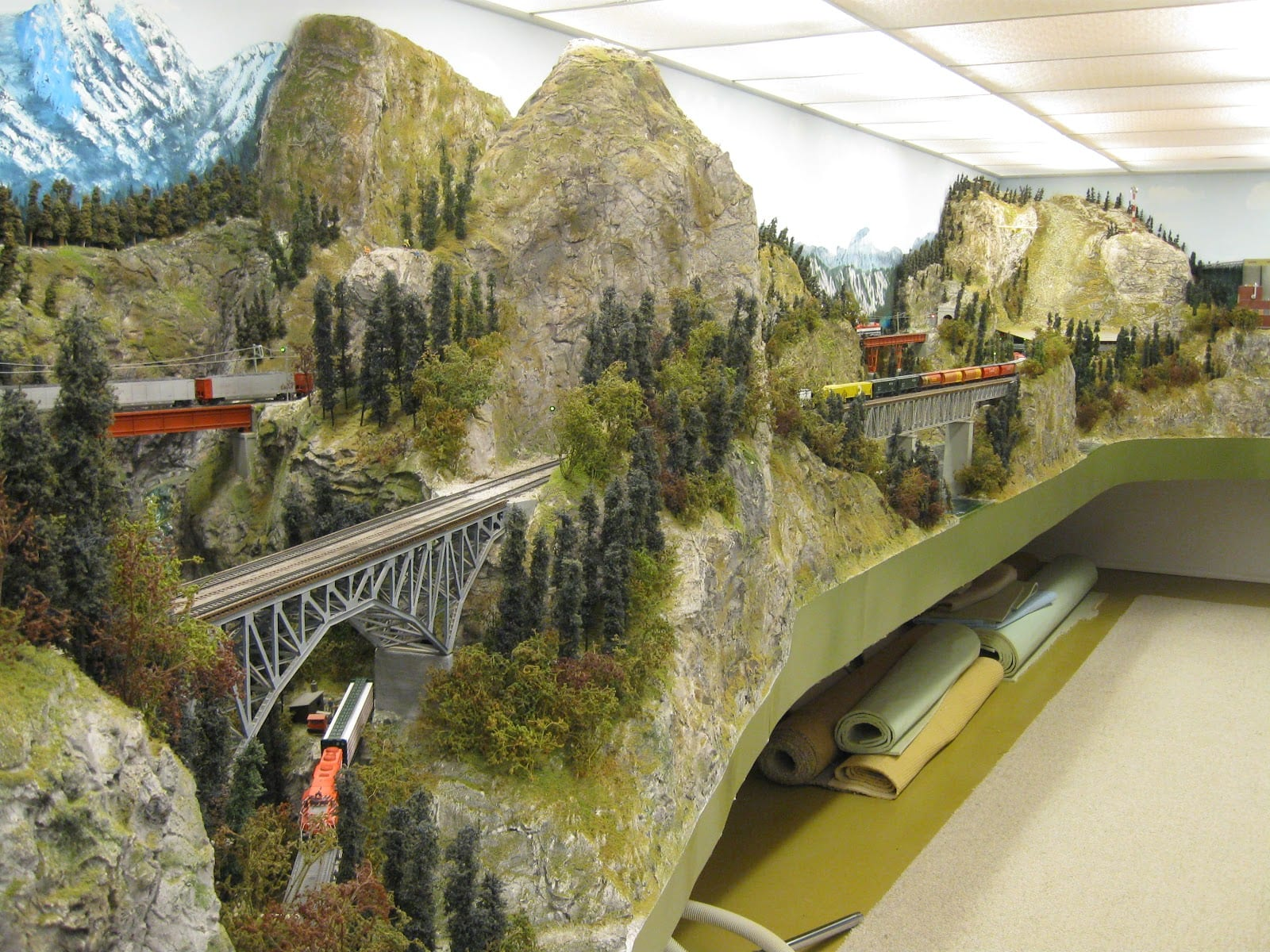 quot The Northland Route quot HO Scale Layout