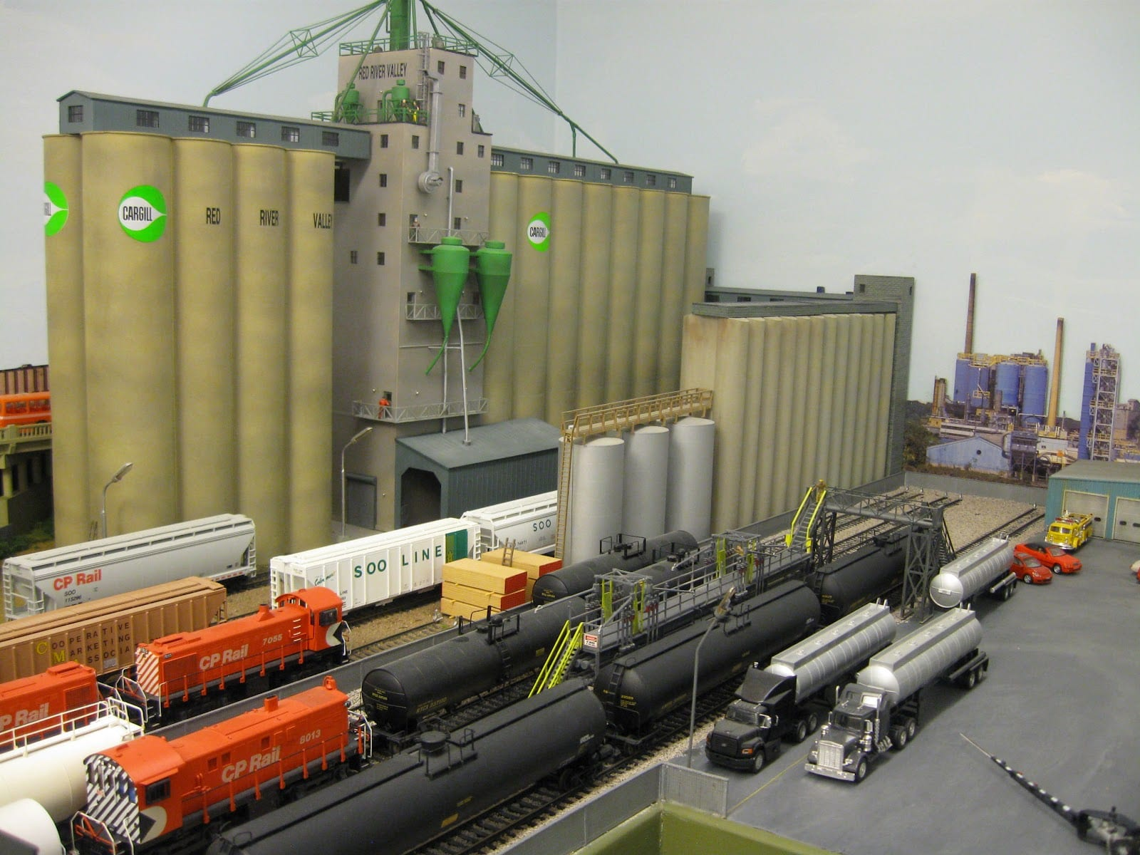 The northland route ho scale layout for Northland motor oils lubricants