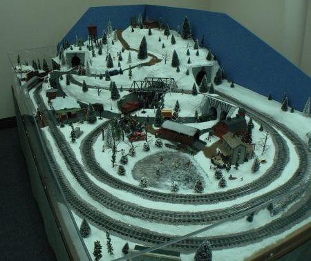 o scale model train layouts