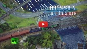 The largest model railway of Russia