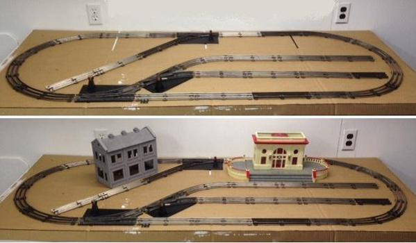 o scale switching layout